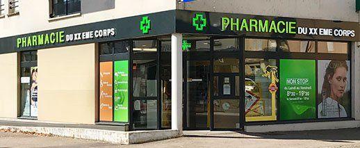 Pharmacie du XXe Corps,METZ